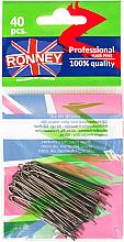 Parfumuri și produse cosmetice Agrafe cafenii 45 mm, 40 buc. - Ronney Brown Hair Pins