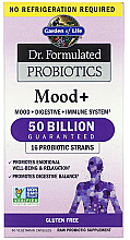 """Parfumuri și produse cosmetice Supliment alimentar """"Bunăstare emoțională"""", capsule - Garden of Life Dr. Formulated Probiotics"""