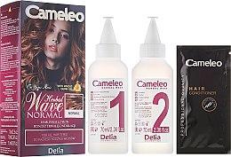 Parfumuri și produse cosmetice Loțiune pentru ondularea permanentă a tuturor tipurilor de păr - Delia Cameleo Herbal Wave