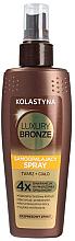 Parfumuri și produse cosmetice Spray autobronzant pentru față și corp - Kolastyna Luxury Bronze Tanning Spray