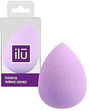 Parfumuri și produse cosmetice Burete de machiaj - Ilu Sponge Raindrop Purple