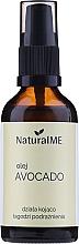 Духи, Парфюмерия, косметика Масло авокадо холодного отжима - NaturalME (с дозатором)