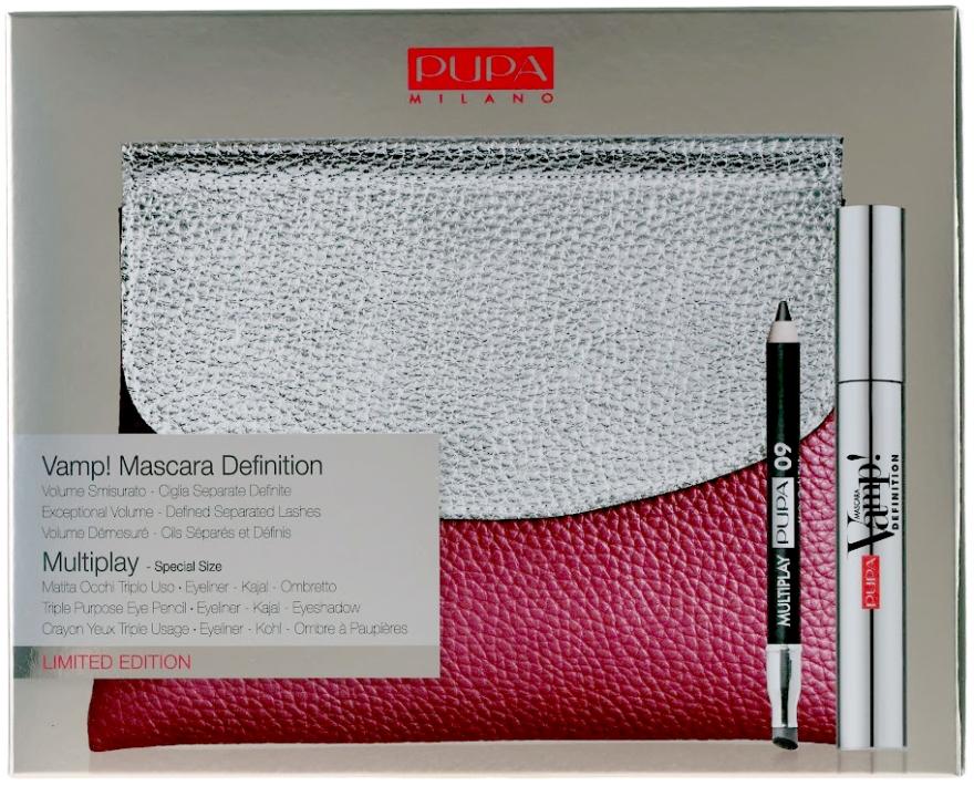 Set - Pupa VAMP! Mascara Definition & Multiplay (mascara/9/ml+pensil/bag) — Imagine N1