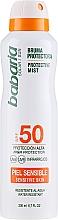 Parfumuri și produse cosmetice Spray cu protecție solară pentru corp - Babaria Protective Mist For Sensitive Skin Spf50