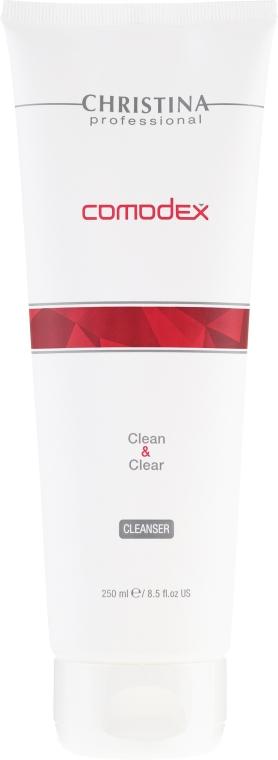 Gel de curățare pentru față - Christina Comodex Clean & Clear Cleanser
