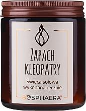 """Parfumuri și produse cosmetice Lumânăre aromată """"The Scent of Cleopatra"""" - Bosphaera The Scent of Cleopatra Candle"""