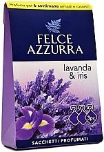 """Parfumuri și produse cosmetice Plic parfumat """"Lavandă și Iris"""" - Felce Azzurra Sachets Lavender and Iris"""