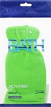 Parfumuri și produse cosmetice Mănuță-Burete de baie, verde - Suavipiel Bath Micro Fiber Mitt Extra Soft
