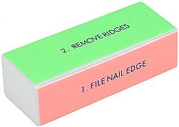 Parfumuri și produse cosmetice Buffer pentru unghii, larg - Tools For Beauty 4-way Nail Buffer Block