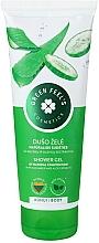 Parfumuri și produse cosmetice Gel de duș, cu extracte de aloe și castraveți - Green Feel's Shower Gel With Aloe & Cucumber Extracts