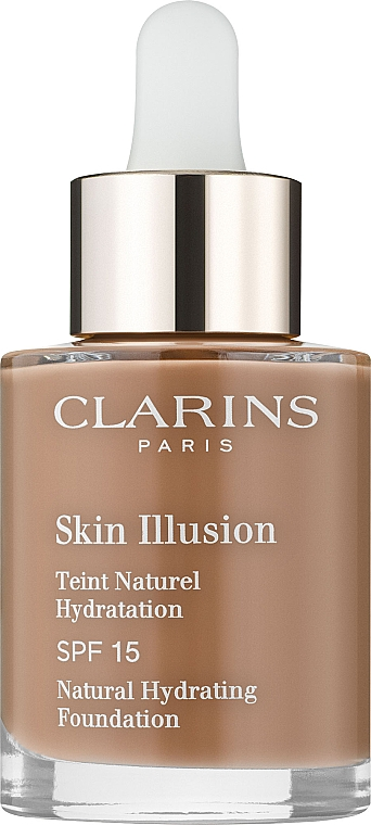 Cremă-Fond de ten cu SPF 15 - Clarins Skin Illusion Foundation SPF 15