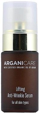 Ser antirid pentru față - Arganicare Lifting Anti-Wrinkle Serum — Imagine N1