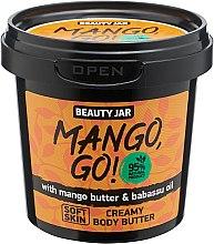"""Parfumuri și produse cosmetice Cremă de corp """"Mango, Go"""" - Beauty Jar Shimmering Creamy Body Butter"""