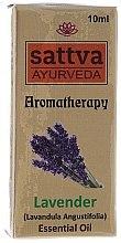 "Parfumuri și produse cosmetice Ulei esențial ""Lavandă"" - Sattva Ayurveda Lavender Essential Oil"