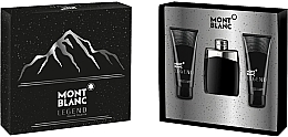 Montblanc Legend - Set (edt/100ml+ash/balm/100ml+sh/gel/100ml) — Imagine N1