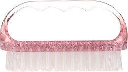 Parfumuri și produse cosmetice Perie cosmetică pentru unghii, 74752, roz - Top Choice