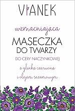 Parfumuri și produse cosmetice Masca de față pentru fermitatea pielii - Vianek