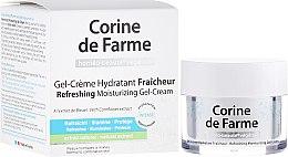 Parfumuri și produse cosmetice Cremă-gel pentru față - Corine de Farme