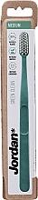 Parfumuri și produse cosmetice Periuță de dinți, medie, verde - Jordan Green Clean