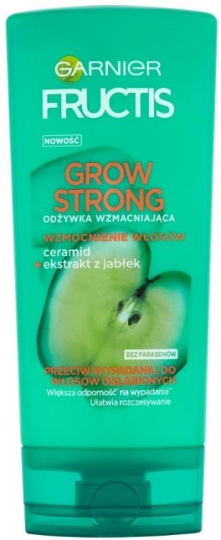 Balsam pentru întărirea părului - Garnier Fructis Grow Strong Conditioner