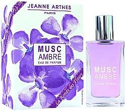 Parfumuri și produse cosmetice Jeanne Arthes Musc Ambre - Apă de parfum