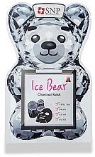 Parfumuri și produse cosmetice Mască cu cărbune pentru față - SNP Ice Bear Charcoal Mask