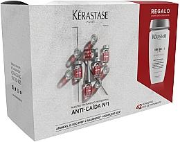 Parfumuri și produse cosmetice Set - Kerastase Specifique Aminexil (shm/250ml+ampoule/42x6ml)