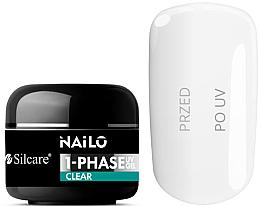 Parfumuri și produse cosmetice Gel de unghii - Silcare Nailo 1-Phase Gel UV Clear