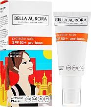 Parfumuri și produse cosmetice Cremă de protecție solară pentru față - Bella Aurora Protector Solar Pre-Base SPF50+