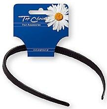 Parfumuri și produse cosmetice Cordeluță de păr 27697, neagră - Top Choice Hair Headband