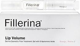 Parfumuri și produse cosmetice Gel pentru mărirea buzelor, nivelul 2 - Fillerina Lip Volume Grade 2