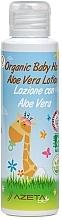 Parfumuri și produse cosmetice Loțiune cu aloe vera pentru păr, pentru bebeluși - Azeta Bio Organic Baby Hair Aloe Vera Lotion