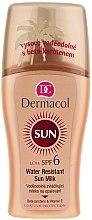 Parfumuri și produse cosmetice Lapte-spray pentru bronzare, impermeabil - Dermacol Water Resistant Sun Milk SPF 6