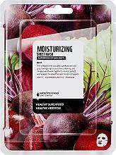 """Parfumuri și produse cosmetice Mască de țesut pentru față """"Sfeclă"""" - Superfood For Skin Moisturizing Sheet Mask"""