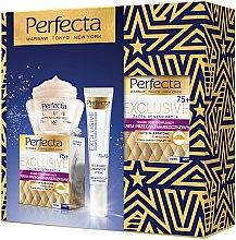 Parfumuri și produse cosmetice Set - Perfecta Exclusive 75+ (cr/50ml+eye/cr/15ml)