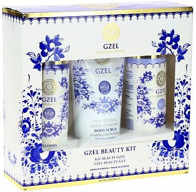 Set - Natura Siberica Gzel Beauty Kit (h/sh/250ml + h/balm/250ml + b/scr/200ml) — Imagine N1