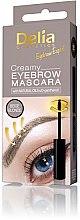 Parfumuri și produse cosmetice Rimel cremos pentru sprâncene - Delia Creamy Eyebrow Mascara