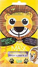 """Parfumuri și produse cosmetice Mască-detox de țesut """"Leu"""" - Bielenda Crazy Mask 3D Lion"""