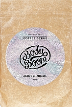 Parfumuri și produse cosmetice Скраб для тела с активированным углем - Body Boom Active Charcoal Coffee Scrub