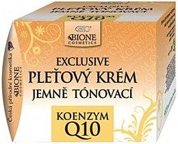 Parfumuri și produse cosmetice Cremă tonifiantă pentru față - Bione Cosmetics Exclusive Gentle Toning Facial Cream With Argan Oil Q10
