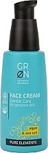 Parfumuri și produse cosmetice Cremă de față - GRN Pure Elements Algae & Sea Salt Face Cream
