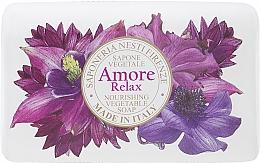 Parfumuri și produse cosmetice Săpun cu parfum de lavandă, citrice și chihlimbar - Nesti Dante Amore Relax Nourishing Vegetable Soap