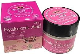 Parfumuri și produse cosmetice Cremă cu acid hialuronic pentru față - Ekel Hyaluronic Acid Ampule Cream