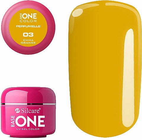 Gel aromatizat de unghii - Silcare Base One Perfumelle UV Gel Color