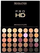 Parfumuri și produse cosmetice Paleta fard de ochi - Makeup Revolution Pro HD Palette Amplified 35