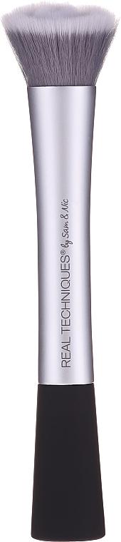 Pensulă pentru machiaj, gri - Real Techniques Complexion Blender Brush — Imagine N2