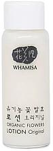 Parfumuri și produse cosmetice Loțiune pentru față - Whamisa Organic Flowers Lotion Original (mostră)