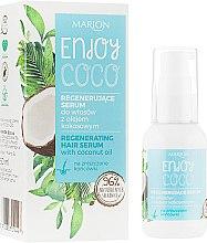 Духи, Парфюмерия, косметика Сыворотка для волос с кокосовой водой - Marion Enjoy Coco Serum