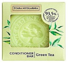 "Parfumuri și produse cosmetice Твердый кондиционер для волос ""Зеленый чай"" - Stara Mydlarnia Green Tea Conditioner Bar"