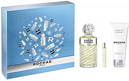 Parfumuri și produse cosmetice Rochas Eau De Rochas - Набор (edt/100ml + edt/7.5ml + b/lot/100ml)